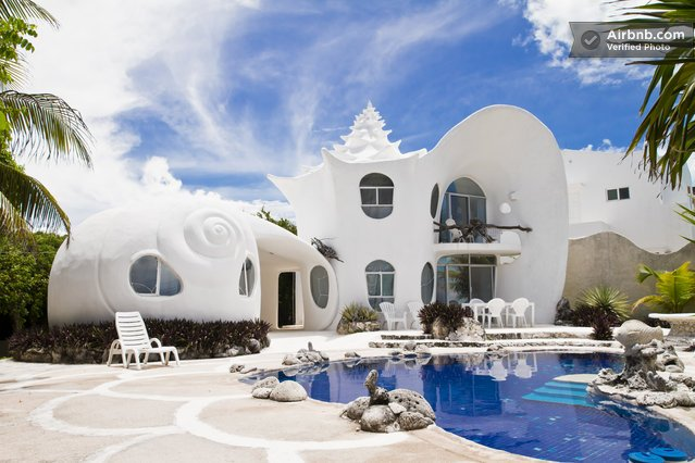 A Seashell House In Mexico