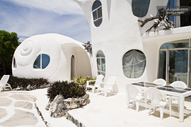 The Seashell House in Mexico