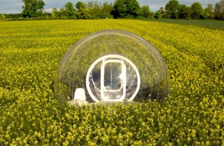 CristalBubble house. House of the future