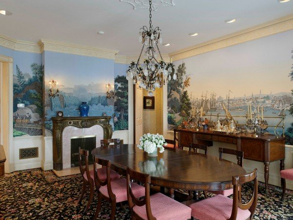 Dining Room Ron Howard home for sale