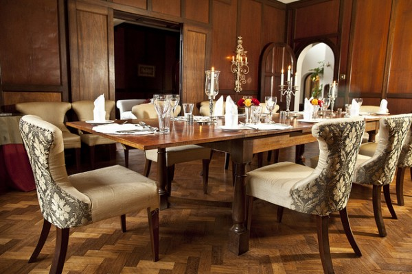 Giraffe Manor Dining Room