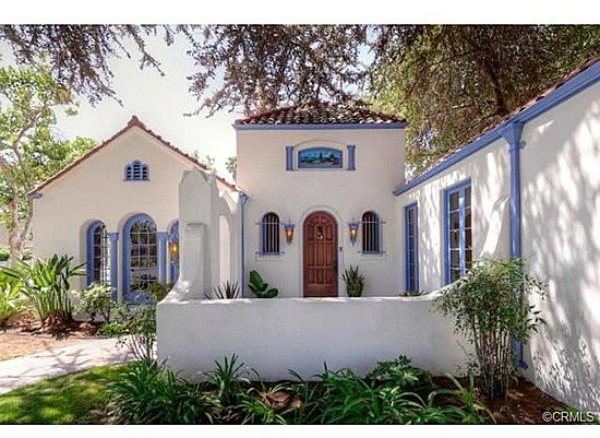 Romantic 1921 spanish style home in anaheim ca for Spanish style homes for sale