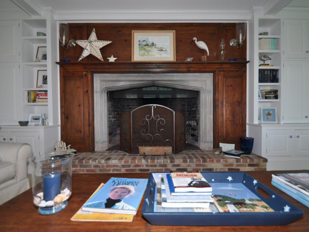Fireplace - Katherine Hepburn Estate