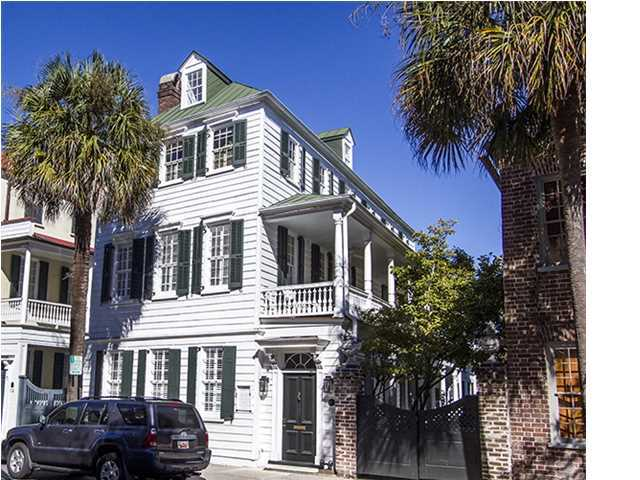 Historic home for sale at 132 Church St Charleston SC