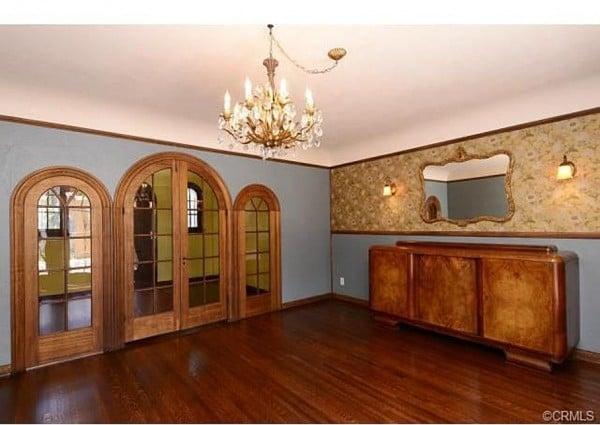 Interior 1921 Historic home Anaheim, CA