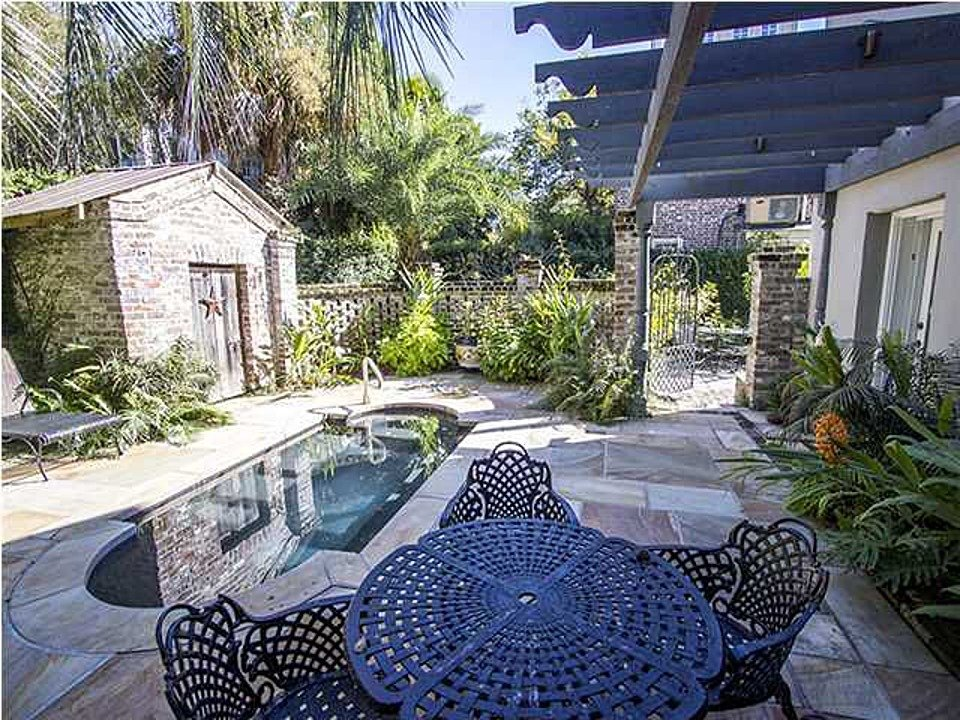 Private pool Charleston SC historic home for sale