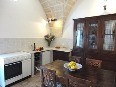 Puglia Villa for sale, kitchen