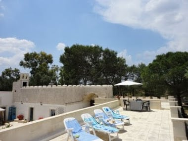 Roof Terrace Masseria Deglia Angeli