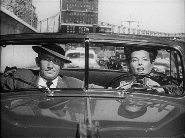 Tracy and Hepburn from the 1949 film Adam's Rib