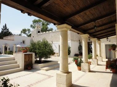 Veranda Masseria Puglia Italy for sale