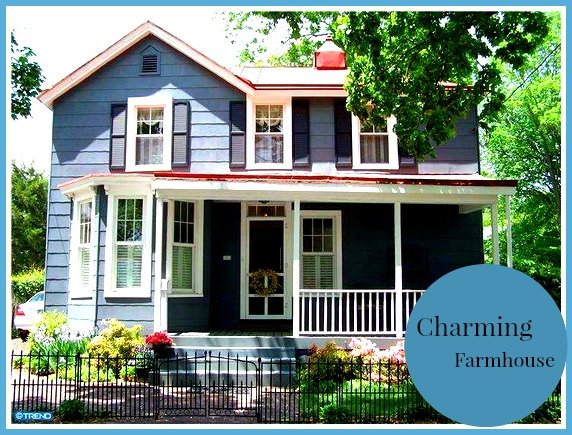Charming Farmhouse Circa 1880 To Call Home