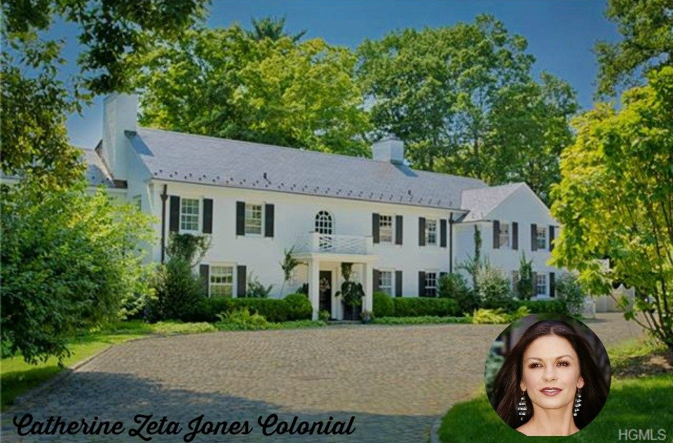 Catherine Zeta Jones NY Colonial