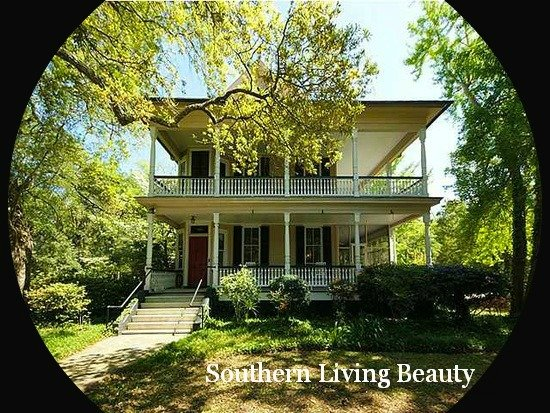Mt Pleasant SC Victorian home is a southern living beauty with awesome double porches