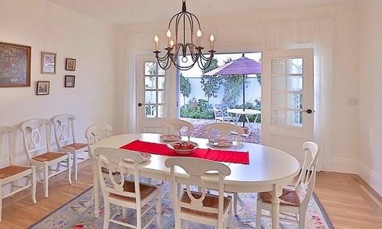 Dining Room Napa Farmhouse Manhattan Beach CA