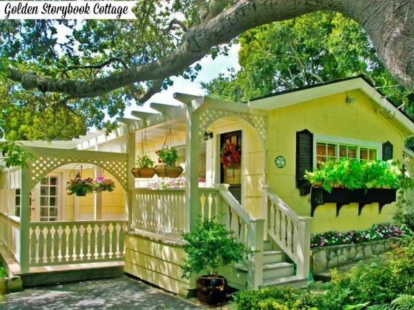Golden Storybook Cottage in Carmel By The Sea