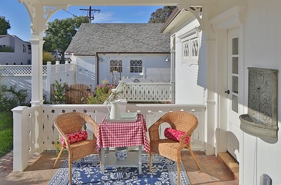 Porch Napa Farmhouse Style Manhattan Beach CA