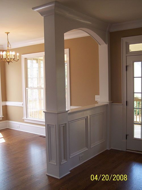 Painting the dining room plus build an entryway for Entryway dining room ideas