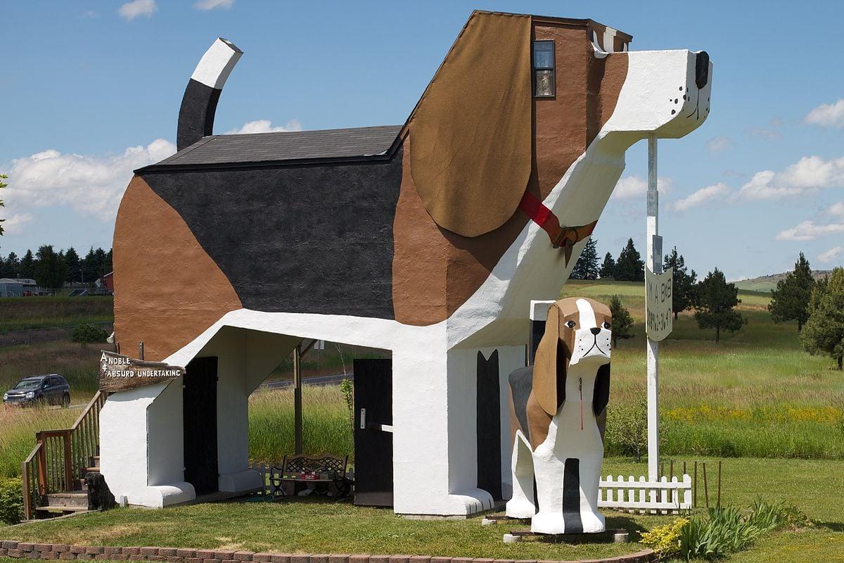 Dog Bark Park Cottonwood Idaho