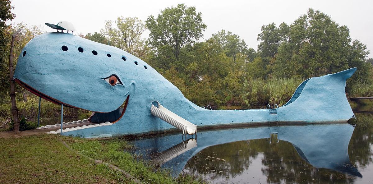Rt 66 Blue Whale Highsmith