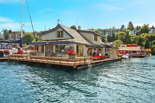 Sleepless In Seattle Houseboat sold