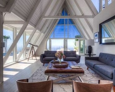 Top of A-Frame 8460 Cole Crest Dr Los Angeles, CA