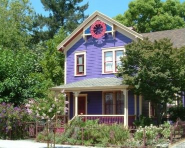 Pretty Purple Victorian Painted Lady - 1526 3rd St Napa CA