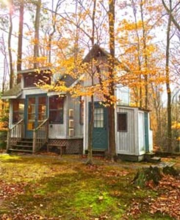 Incredible Tiny Cabin Just Steps From Lake Michigan Home Interior And Landscaping Oversignezvosmurscom
