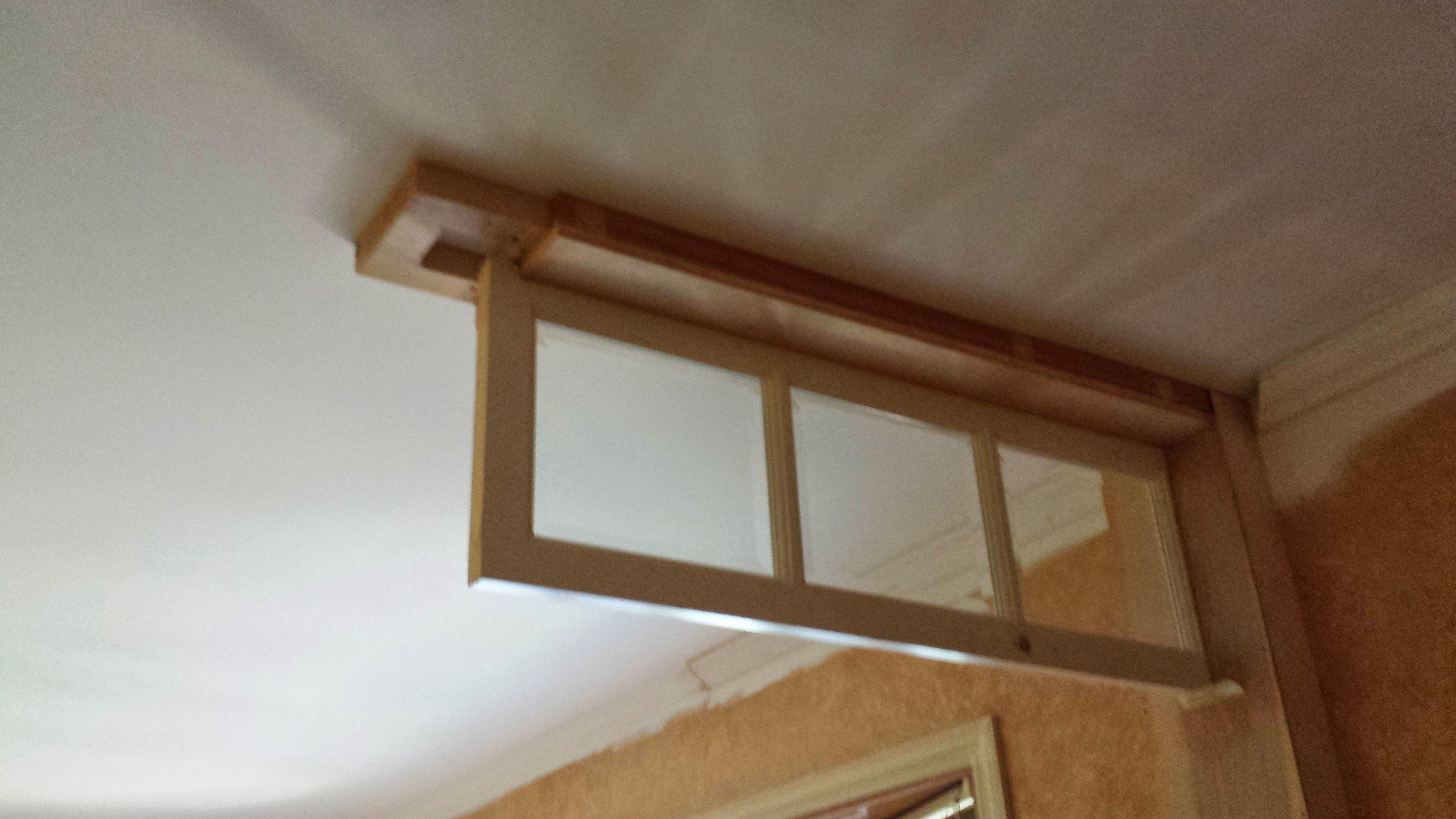 Our diy transom window entryway idea for Transom windows