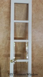 Our DIY Transom Window Entryway Idea
