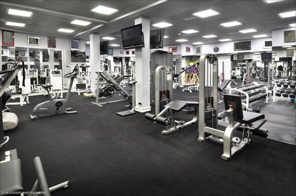 Workout Room Michael Jordan Highland Park IL mansion