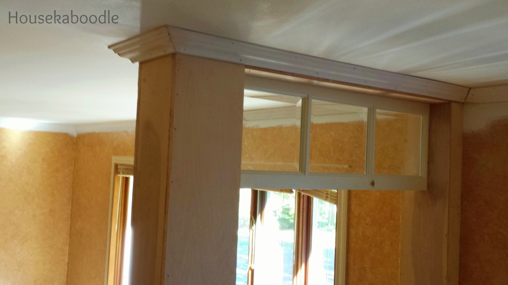 DIY Transom Window - Housekaboodle