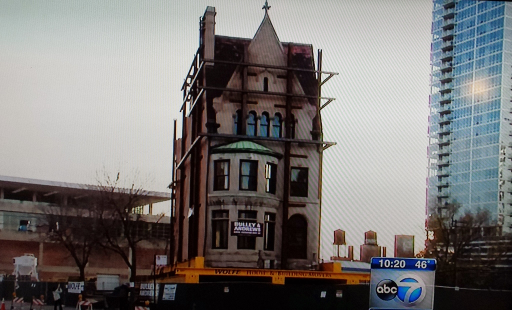 Chicago's Harriet Rees House Moving Down the Block
