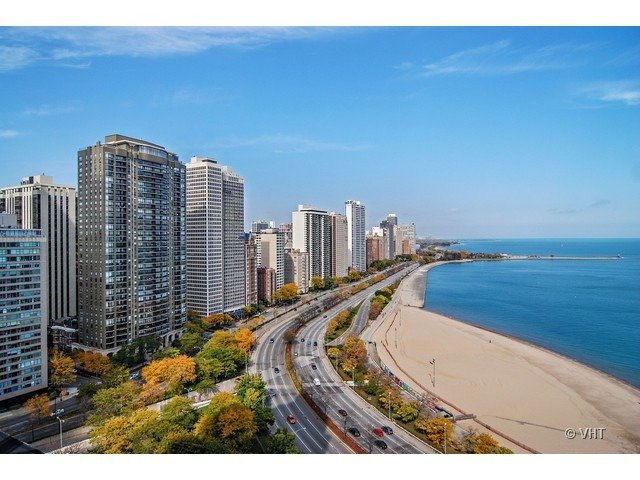 View from Chicago Penthoue for sale 189 East LAKE SHORE Dr