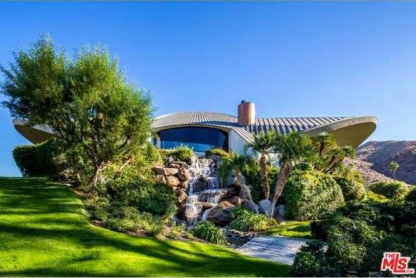 Bob Hope modern home for sale 2466 Southridge Dr Palm Springs CA