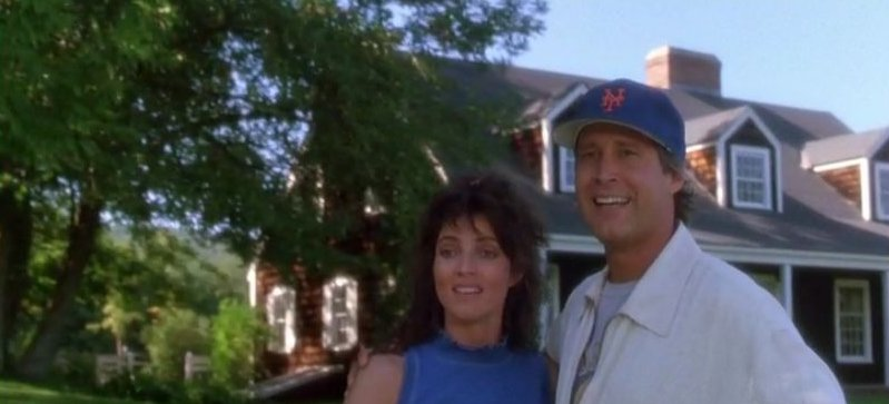 Funny Farm movie starring Chevy Chase and Madolyn Smith