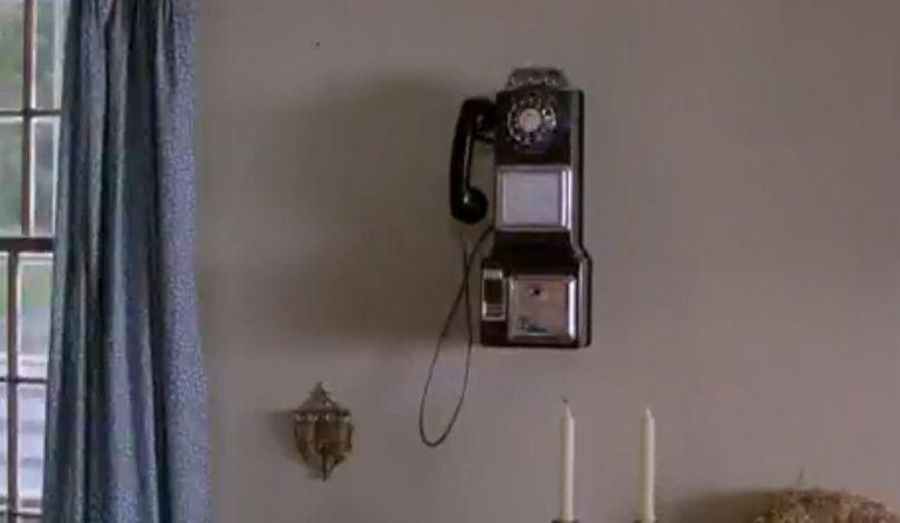 Funny Farm movie scene capture Coin Phone