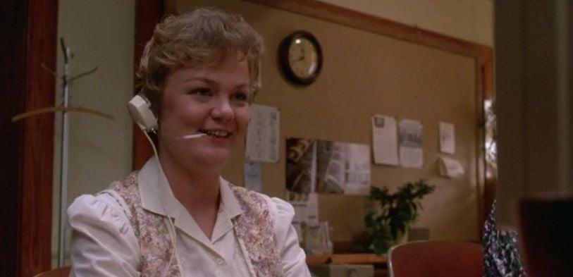 Funny Farm movie scene telephone operator