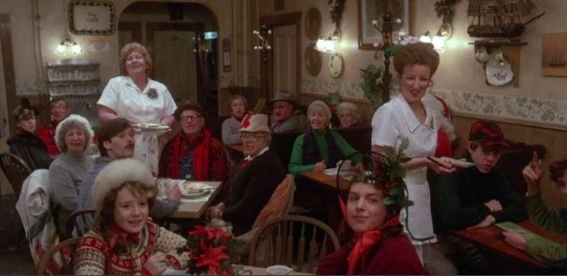Ivys Cafe Merry Christmas greeting
