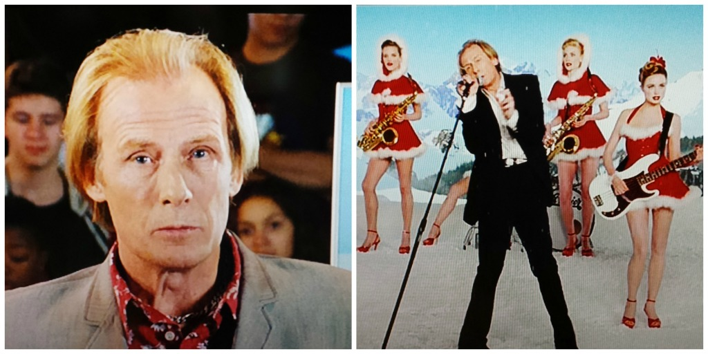 Rock star Billy Mack in Love Actually