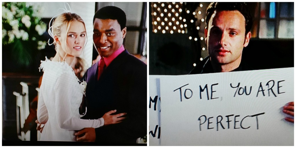 Juliet (Keira Knightley) and Peter (Chiwetel Ejiofor) Love Actually