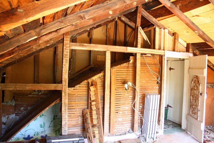 Calico renovation before