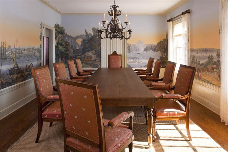 Dining Rm Dallas Texas historic home - Christic real estate