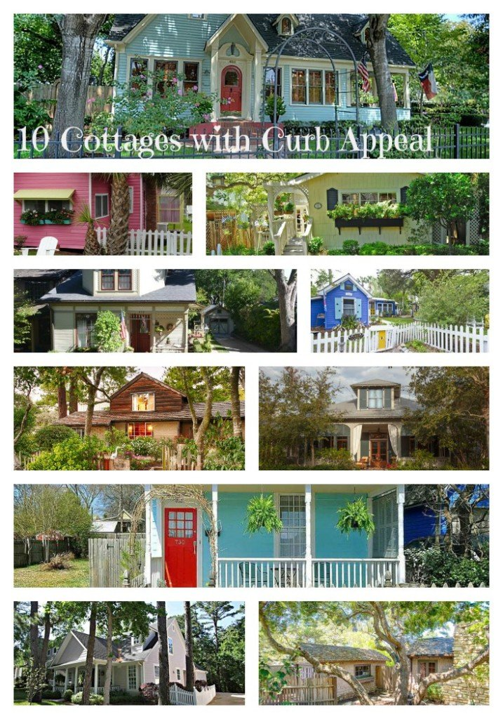10 Cottages with Curb Appeal