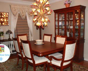 Elegant Dining Room - Sassy Townhouse Living