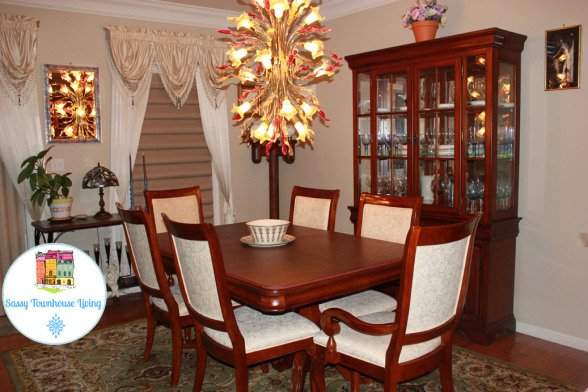Elegant Dining Room - Sassy Townhouse Living