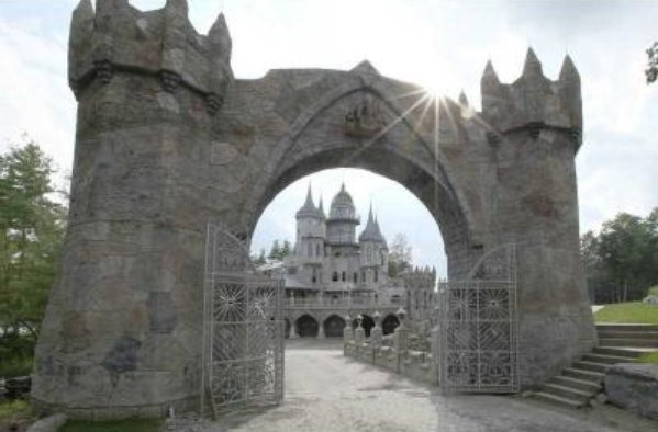 Enter a Fairytale Castle in Connecticut For Sale