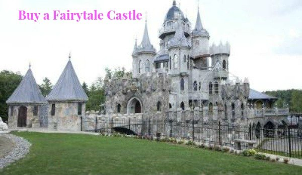You can buy this real-life Fairy tale Castle in Connecticut for sale. Dreams do come true.