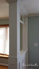Our DIY Transom Window Entryway Before and After