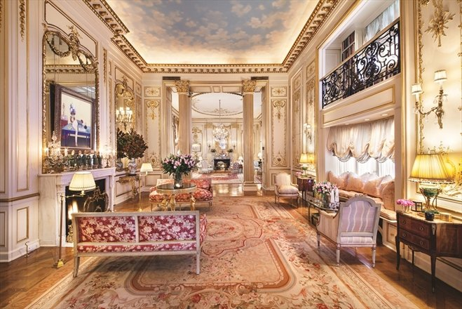 Joan Rivers Penthouse Music Room - Corcoran NYC listing