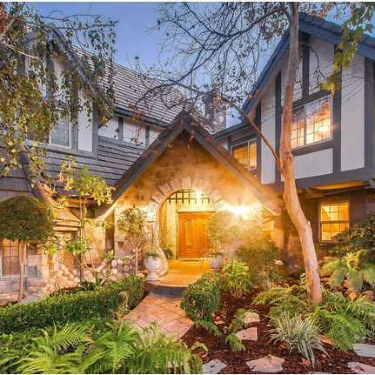 Tudor Style House is an Enchanting Storybook Estate